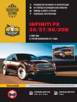 Infiniti FX 35 / 37 / 50 / 30d (Инфинити ФХ 35 / 37 / 50 / 30д). Руководство по ремонту, инструкция по эксплуатации. Модели с 2008 года (+ рестайлинг 2011 года), оборудованные бензиновыми и дизельными двигателями