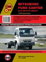 Руководство по ремонту и эксплуатации Mitsubishi Fuso Canter