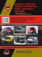 Renault Master / Opel Movano / Nissan Interstar (Рено Мастер / Опель Мовано / Ниссан Интерстар). Руководство по ремонту, инструкция по эксплуатации. Модели с 1998 года выпуска, оборудованные дизельными двигателями