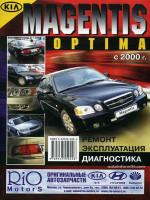 Kia Magentis / Optima (Киа Маджентис / Оптима). Руководство по ремонту, инструкция по эксплуатации. Модели с 2000 года выпуска, оборудованные бензиновыми двигателями