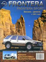 Opel Frontera (Опель Фронтера). Руководство по ремонту, инструкция по эксплуатации. Модели с 1991 года выпуска, оборудованные бензиновыми и дизельными двигателями