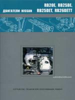 Двигатели Nissan (Ниссан) RB20E / RB25DE / RB25DET / RB26DETT. Устройство, руководство по ремонту, техническое обслуживание