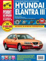 Hyundai Elantra III (Хюндай Элантра 3). Руководство по ремонту в цветных фотографиях, инструкция по эксплуатации. Модели с 2000 по 2006 год выпуска, оборудованные бензиновыми двигателям.