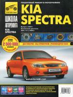 Kia Spectra (Киа Спектра). Руководство по ремонту в фотографиях, инструкция по эксплуатации. Модели с 2004 года выпуска, оборудованные бензиновыми двигателями.