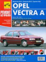Opel Vectra (Опель Вектра). Руководство по ремонту в цветных фотографиях, инструкция по эксплуатации. Модели с 1988 по 1995 год выпуска, оборудованные бензиновыми двигателями