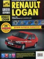 Renault Logan (Рено Логан). Руководство по ремонту, инструкция по эксплуатации в цветных фоторгафиях. Модели с 2004 года выпуска, оборудованные бензиновыми двигателями