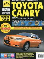 Toyota Camry (Тойота Камри). Руководство по ремонту в фотографиях, инструкция по эксплуатации. Модели с 2005 года выпуска, оборудованные бензиновыми двигателями