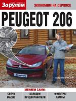 Peugeot 206 (Пежо 206). Руководство по самостоятельно замене автомобильных расходников в фотографиях