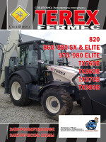 Экскаватор-погрузчик Terex Fermec 820, 860 / 880 SX / ELITE, 970/980 ELITE, TX760B, TX860B, TX970B, TX980B. Электрооборудование и электрические схемы. Модели, оборудованные дизельными двигателями
