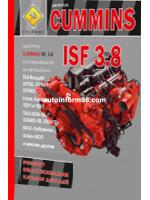 Двигатели Cummins ISF 3.8 (Камминз ИСФ 3.8). Руководство по ремонту, техническое обслуживание. Каталог деталей