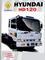 Hyundai HD 120 (Хюндай ХД 120). Руководство по ремонту, техническому обслуживанию, каталог запасных частей.
