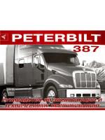 Peterbilt 387 (Петербилт 387). Инструкция по эксплуатации, техническое обслуживание. Модели, оборудованные дизельными двигателями
