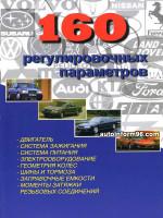 160 регулировочных параметров