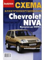 Chevrolet Niva. Схема электрооборудования, модели до 2009 года