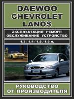 Daewoo Lanos / Chevrolet Lanos (Дэу Ланос / Шевроле Ланос). Руководство по ремонту, инструкция по эксплуатации. Модели, оборудованные бензиновыми двигателями