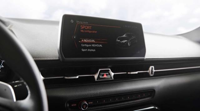 Электронная система управления автомобилем