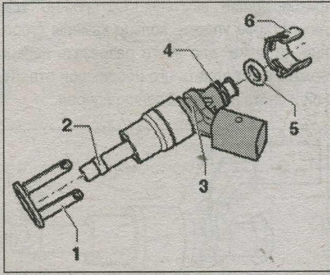 клапан высокого давления Audi Q5