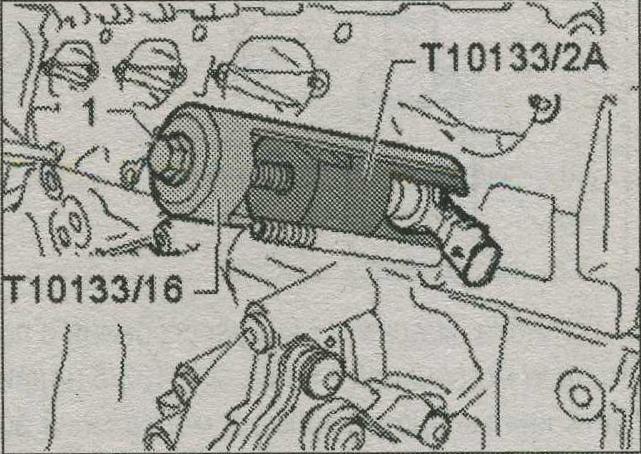 съемник  Audi Q5, T10133/2A , форсунки Audi Q5, T10133/16