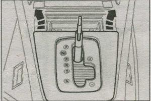 механизм переключения передач Audi A4