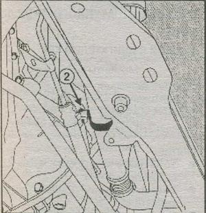 кронштейн трубопровода системы охлаждения Renault Duster,  картер двигателя Renault Duster