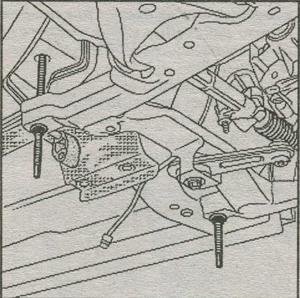 резьбовой стержень приспособления Renault Duster, Tav 1747, подрамник передней подвески Renault Duster