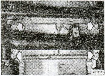 Снятие и установка маслянного картера BMW 5 рис1