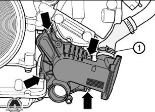 Болты шланга охлаждающей жидкости Audi Allroad / A6 / A6 Avant