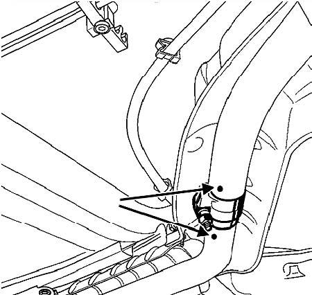 Часть впускного трубопровода Infinity FX 35