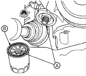 масляный фильтр акура мдх, масляный фильтр Acura MDX