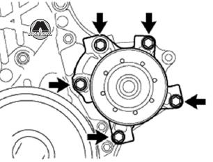 Насос системы охлаждения Toyota Avensis