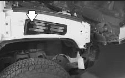 Расположение воздушного фильтра Hummer H2