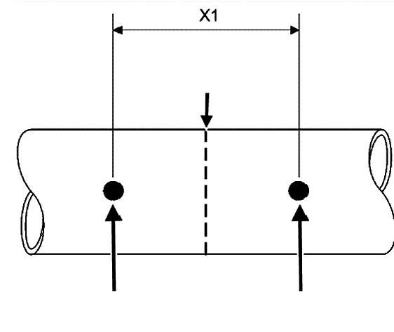 Разметка перед резкой впускного клапана Infinyty FX 35