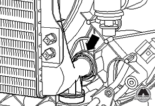 Шланг охлаждающей жидкости Audi Allroad / A6 / A6 Avant