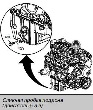 Сливная пробка Hummer H3 / H3 Alpha
