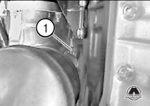 Сливное отверстие на радиаторе BMW Х5