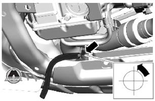 Сливной кран Range Rover Evoque