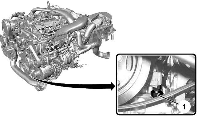 Снятие датчика топлива Citroen C5