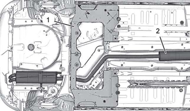 Снятие системы впрыска топлива Citroen C4