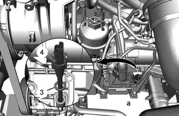 Снятие уплотнителя Citroen C5