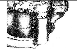 Снятие масляного фильтра TATA 613 / I-VAN A07A / BAZ-A079 Etalon