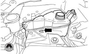 Замена охлаждающей жидкости Range Rover Evoque