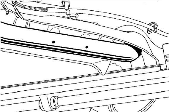 Зона впускного трубопровода Infinyty FX 35