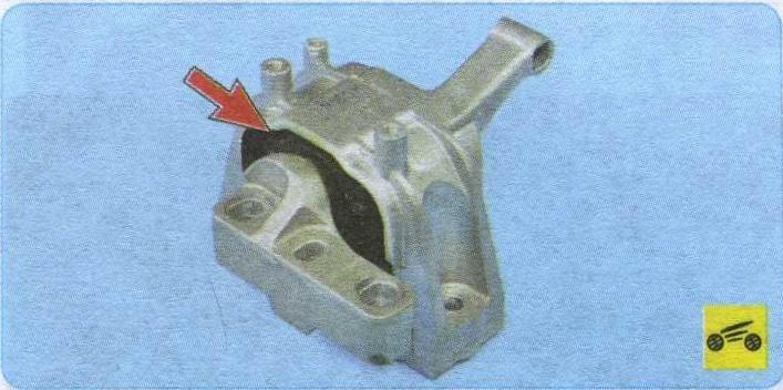 опора Volkswagen Tiguan, резинометаллический шарнир Volkswagen Tiguan