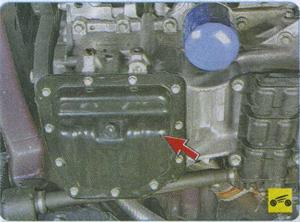 система смазки Hyundai Solaris
