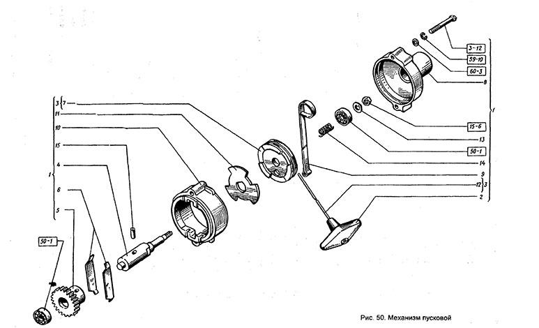 Пусковой механизм Т-151 К-08
