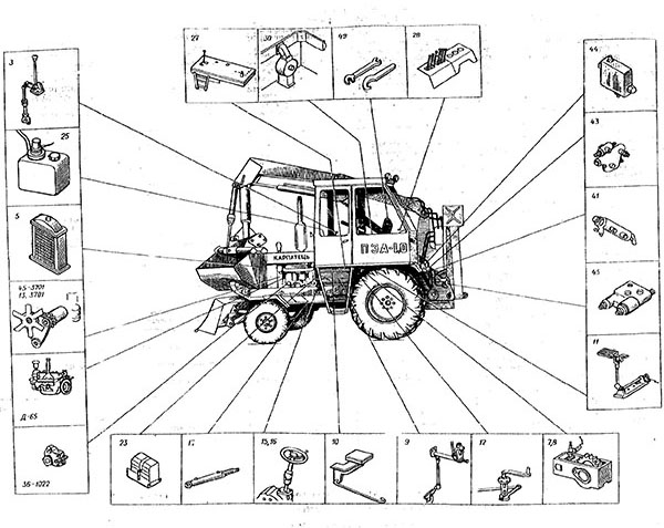 Трактор Карпатец ПЭА-1,0