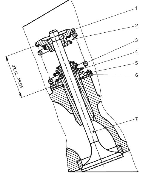 Клапанная пружина Daewoo / Chevrolet Lanos / Sens