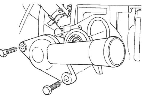 Крепление шланга радиатора ZAZ Vida