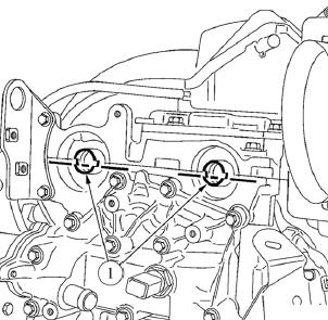 Положение пазов распределительного вала Lada Largus