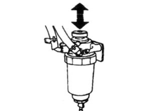 Прокачка топливного фильтра JAC 1045K